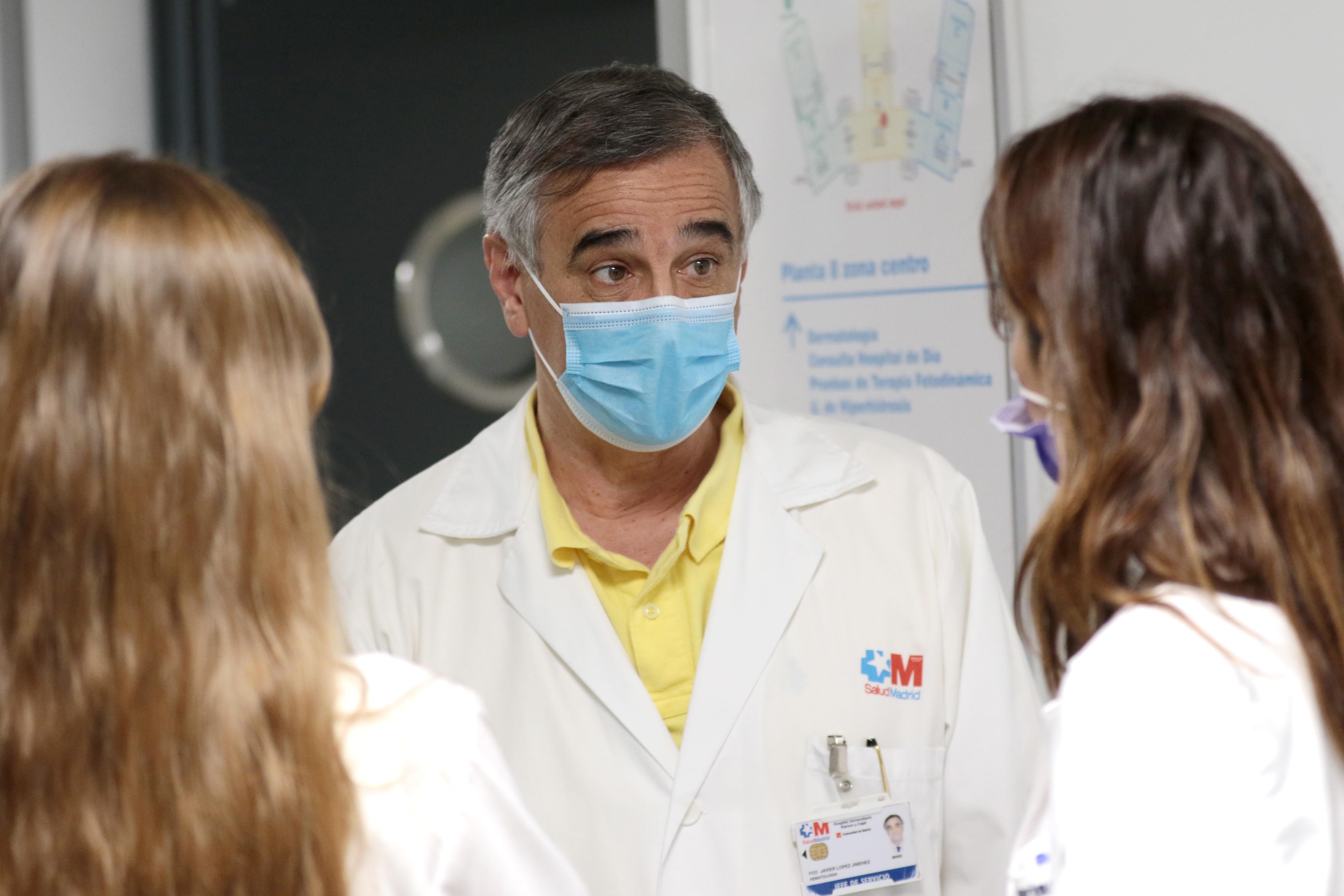 Dr. Javier López Jiménez, jefe de Servicio de Hematología-Hemoterapia del Hospital Ramón y Cajal