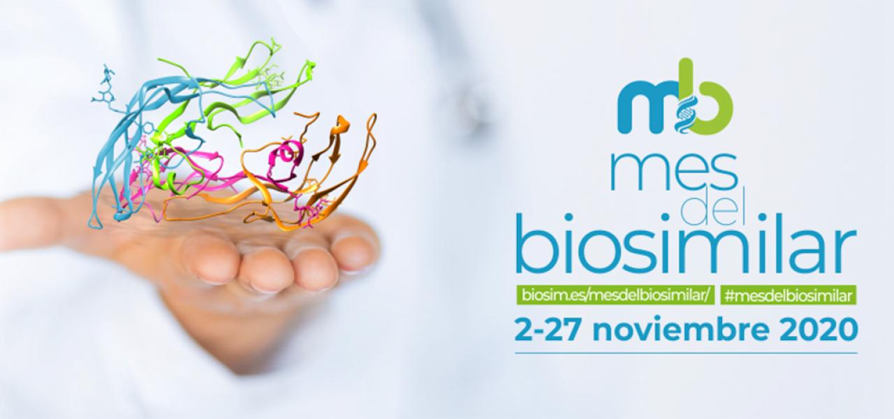 Este mes de Noviembre es el mes del BioSimilar. Haz clic aquí para descubrir más.
